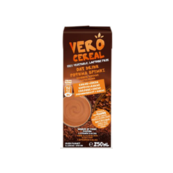 Oat Drink with Carob and Cocoa 250ml - VERO CEREAL