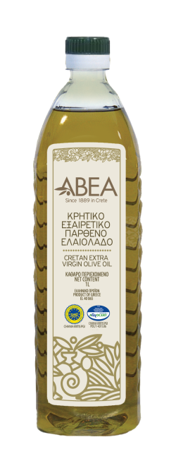 ABEA Extra Virgin Olive Oil PGI Chania- 1lt Pet Bottle