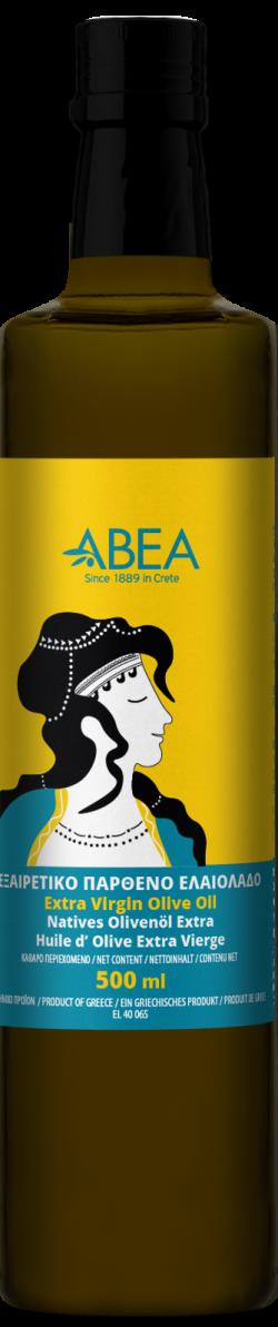 ABEA Extra virgin olive oil Minoan Line 500ml Dorica Bottle