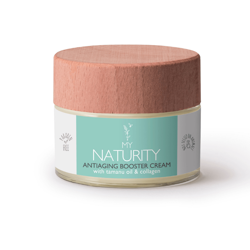 My Naturity - Antiaging Booster Cream with Tamanu oil and Collagen