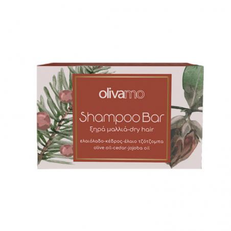 Shampoo Bar for Dry Hair - Olive oil, Cedar, Jojoba Oil