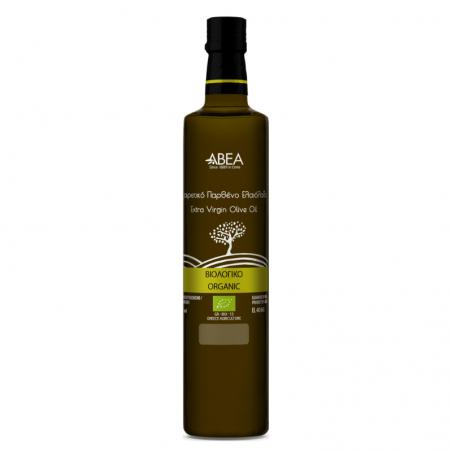 ABEA Εξαιρετικό Παρθένο Ελαιόλαδο Βιολογικής Καλλιέργειας-250ml Γυάλινο Μπουκάλι Dorica