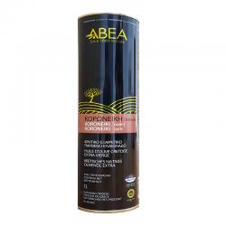 ABEA Koroneiki Monovarietal Extra Virgin Olive Oil 1L tin box