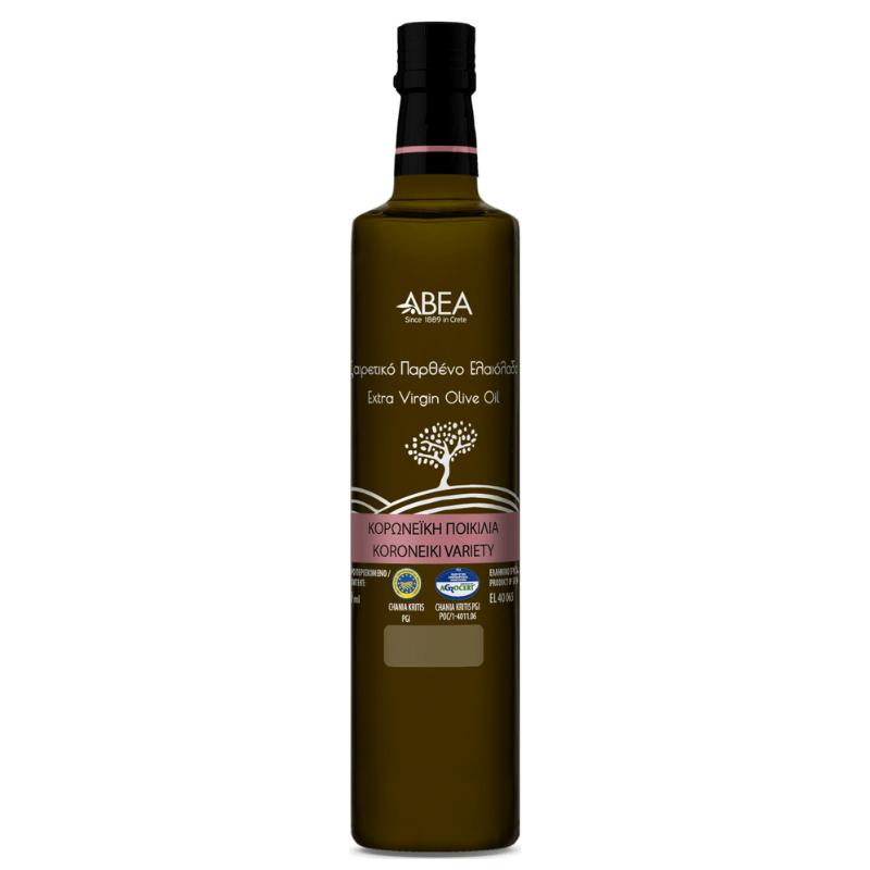 ABEA Koroneiki Monovarietal Extra Virgin Olive Oil 250ml glass bottle