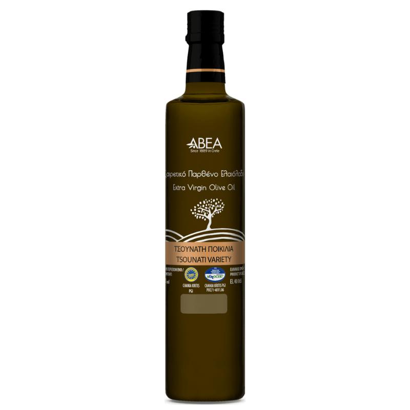 ABEA Tsounati Monovarietal Extra Virgin Olive Oil-250ml Dorica Glass Bottle