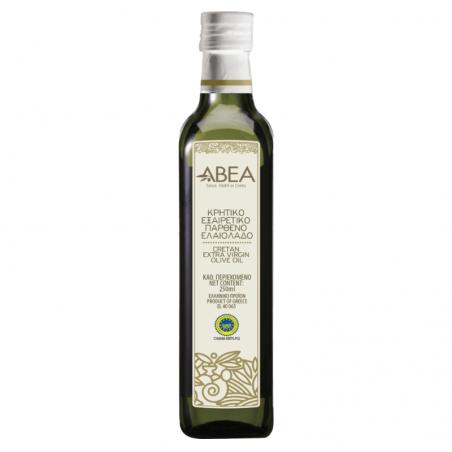 ABEA Extra Virgin Olive Oil PGI Chania-250ml Marasca Glass Bottle