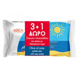 ABEA Σαπούνι Ελαιολάδου Δελφίνι 125gr  3+1 Δώρο