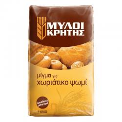 Μίγμα για Χωριάτικο Ψωμί 1kg ΜΥΛΟΙ ΚΡΗΤΗΣ