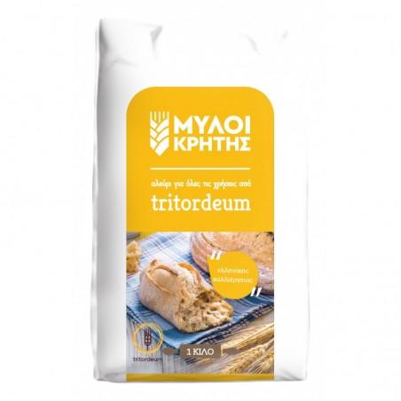 Tritordeum Flour 1kg MILLS OF CRETE