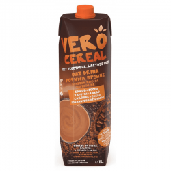 Oat Drink with Carob and Cocoa 1lt - VERO CEREAL
