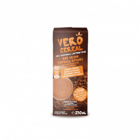 Oat Drink with Carob and Cocoa 250ml VERO CEREAL