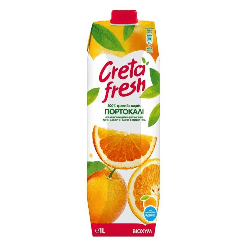 CRETA FRESH Natural Orange Juice 1l