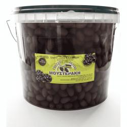 Kalamata Table Olives preserved in vinegar - 5kg plastic bucket