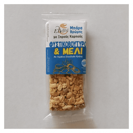 Elvita oat bar with nuts, peanut butter and honey 45gr