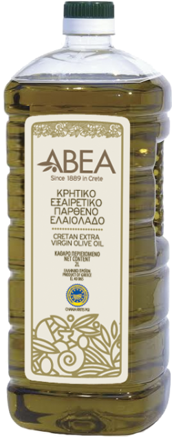 ABEA Extra Virgin Olive Oil PGI Chania- 2lt Pet Bottle
