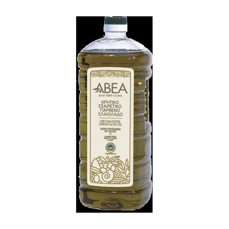 ABEA Extra Virgin Olive Oil PGI Chania- 2lt Pet Bottle